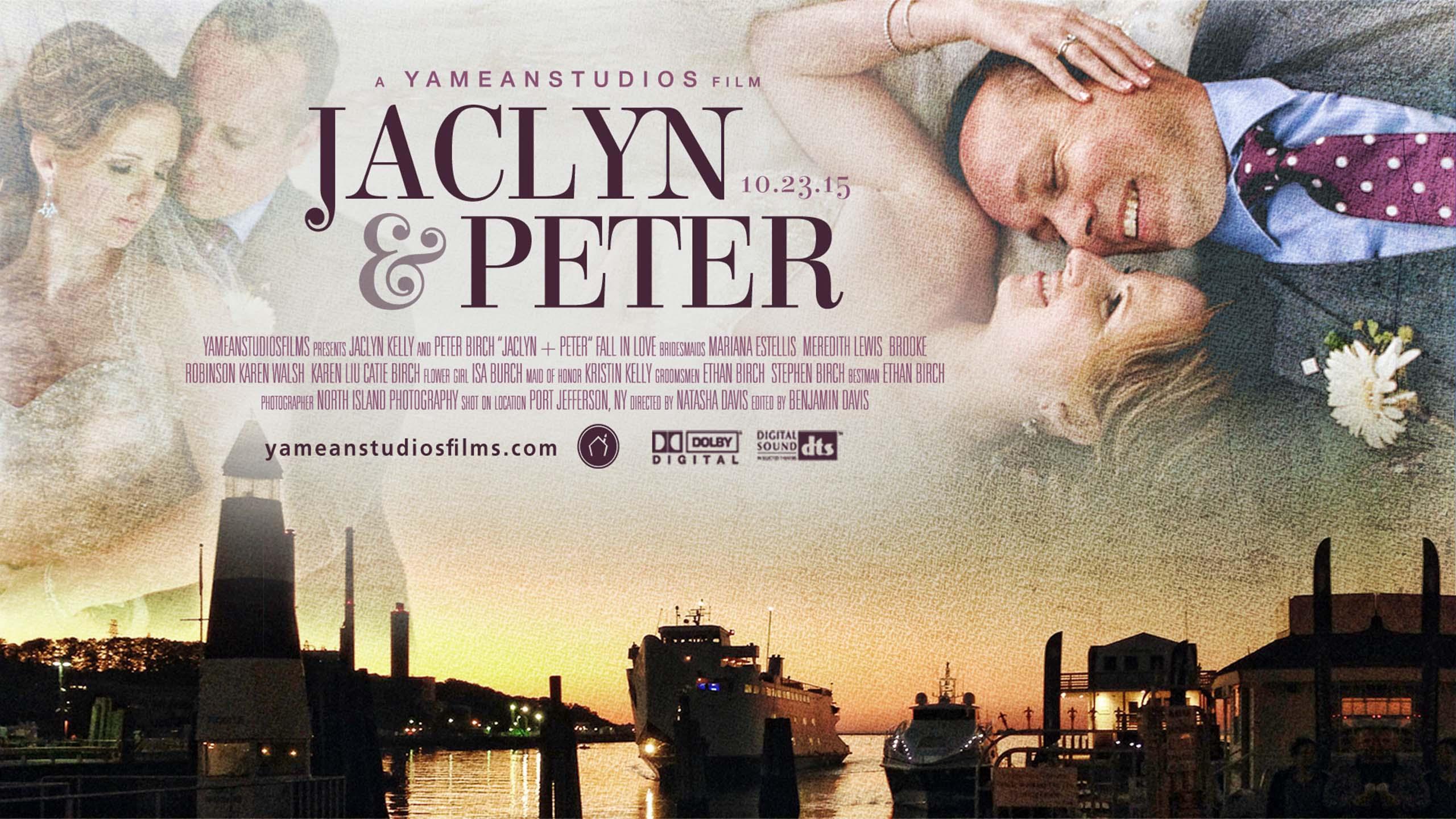Jaclyn + Peter   Port Jefferson, NY   Wedding Trailer